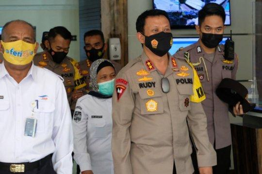 Kapolda Banten cek Pelabuhan Merak pastikan kebijakan larangan mudik