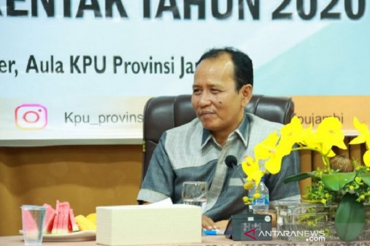 KPU Provinsi Jambi tekankan netralitas terhadap panitia pelaksana PSU