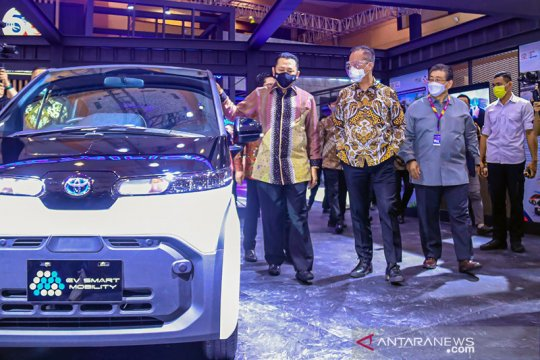 Menperin optimistis industri otomotif pacu pemulihan ekonomi nasional