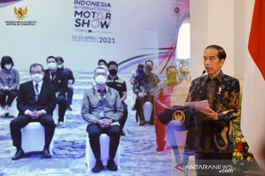 PMI manufaktur naik, Presiden Jokowi: Jaga tren positif ekonomi RI