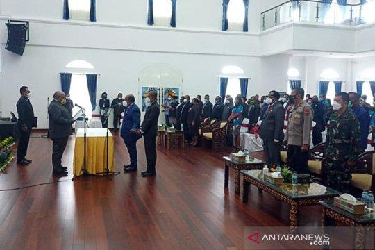 Pemprov Papua sahkan pengangkatan Yoel Mulait jadi Wakil Ketua I MRP