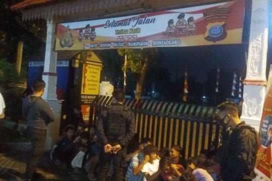 Polda Sumut amankan puluhan remaja terlibat tawuran di Medan