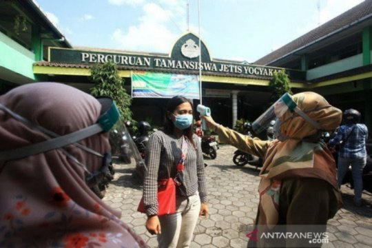 Yogyakarta hentikan sekolah tatap muka jika wilayah zona oranye-merah