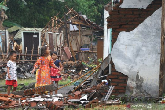 Sebanyak 4.805 keluarga di Kabupaten Malang terdampak gempa bumi