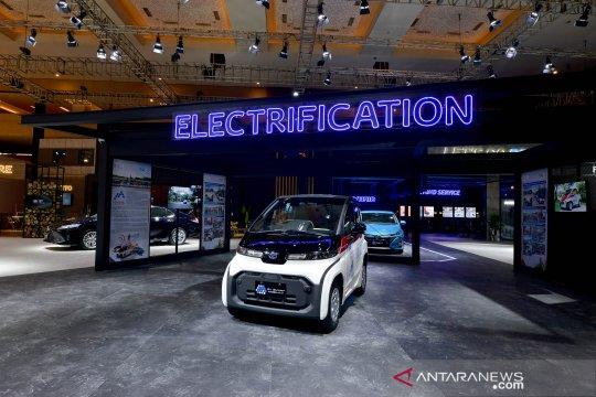 Toyota pajang 10 mobil listrik di IIMS 2021