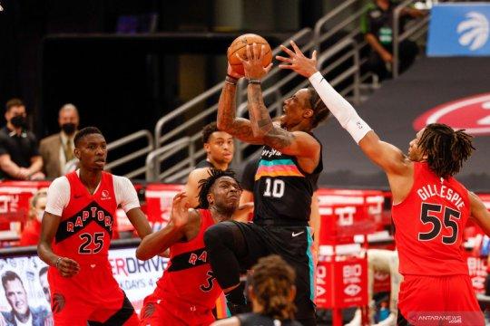 NBA: Raptorts kalahkan Spurs 117 - 112