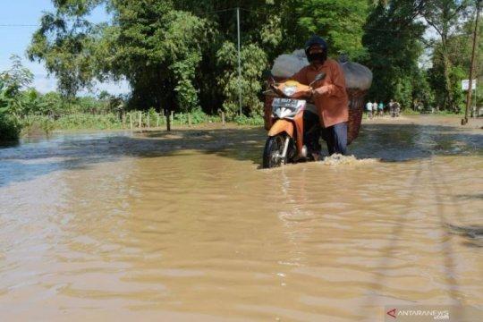 Sejumlah wilayah di Kabupaten Madiun dilanda banjir