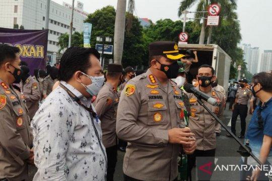 Polres Jakarta Pusat sebut angka kejahatan Januari - Maret turun