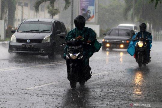 BMKG perkirakan mayoritas daerah diguyur hujan