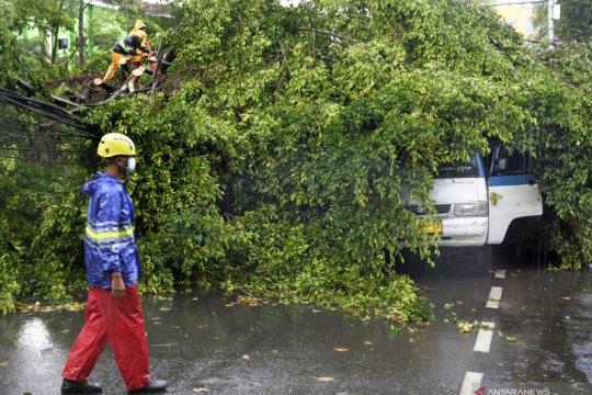 Angin kencang terjang Serang Banten