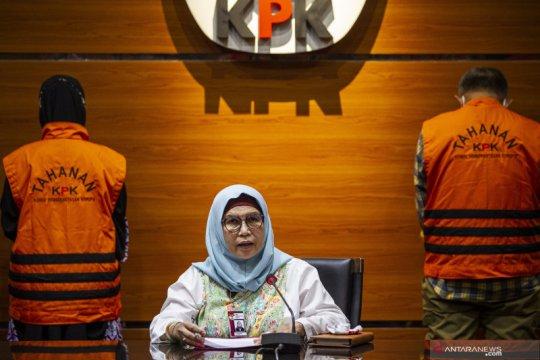 KPK menduga Anggota DPRD Jabar Ade Barkah terima suap Rp750 juta