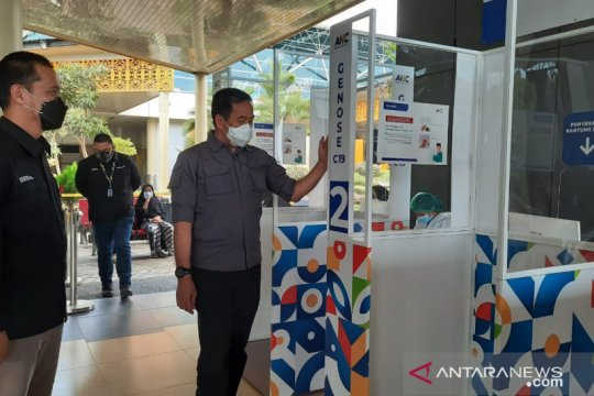Animo penumpang manfaatkan GeNose di Bandara Jambi meningkat