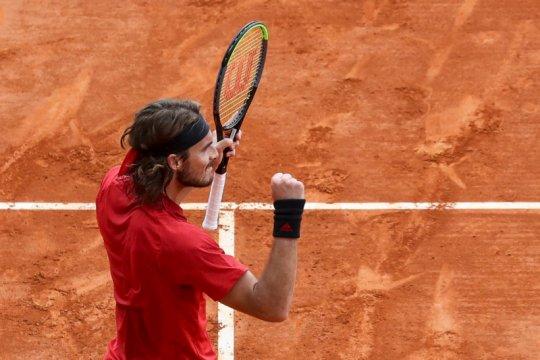 Tsitsipas lolos ke semifinal Monte Carlo Masters