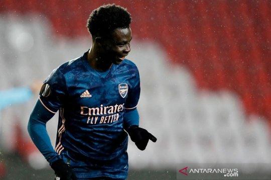 Bukayo Saka pede Arsenal bisa capai final Liga Europa