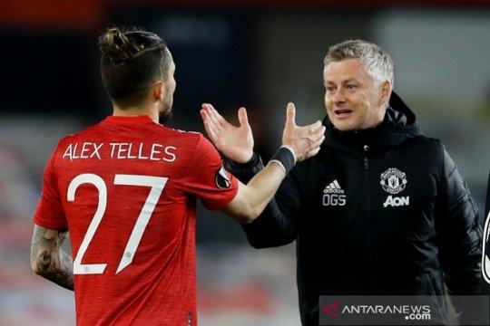Lanjut semifinal Liga Europa, Ole ingin MU tutup musim dengan trofi