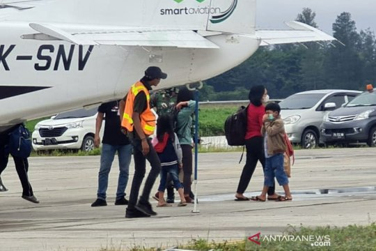 Kapolda akui 40-an warga sudah dievakuasi dari Beoga ke Timika