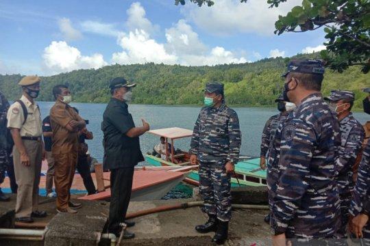Wakasal tinjau lokasi pembangunan Pangkalan TNI AL di Sangihe