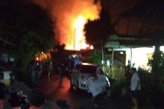 Delapan rumah di Perumnas I Waena Jayapura terbakar