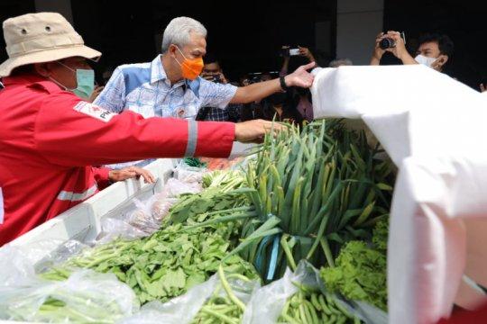 Ganjar pastikan stok logistik kebencanaan di Jateng aman