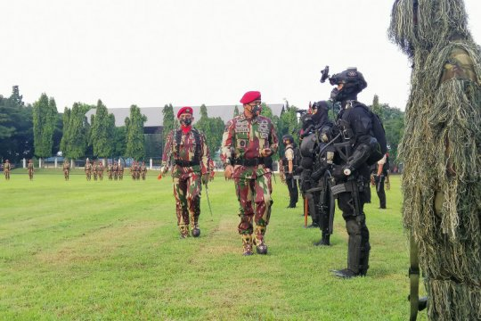 Peringatan HUT ke-69 Kopassus tanpa ada parade militer