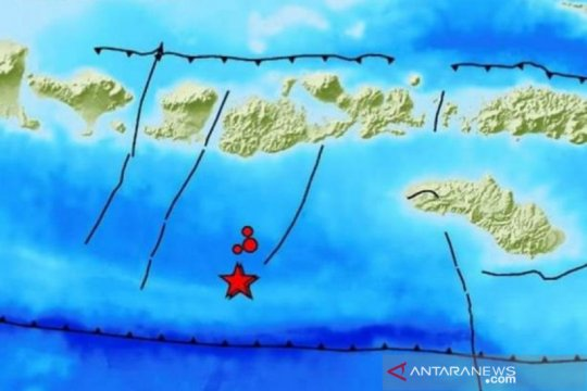Rentetan gempa di selatan Lombok-Sumbawa perlu diwaspadai