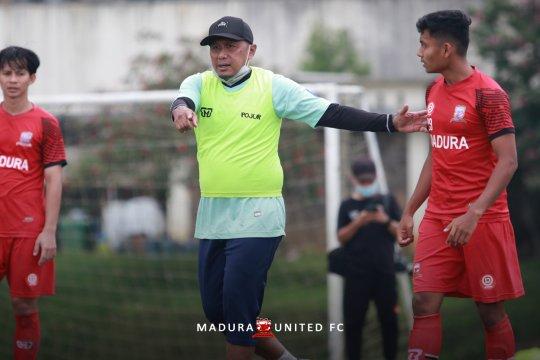 Madura United tunggu putusan Liga 1 untuk mulai latihan