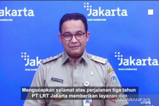 Anies berharap LRT Jakarta terus berinovasi