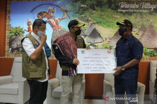 Pemprov Sumbar kirimkan 1,5 ton rendang untuk korban bencana NTT