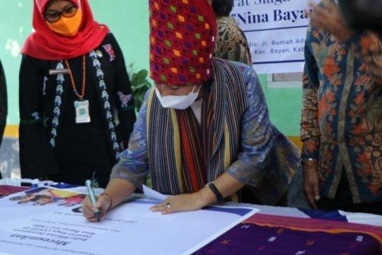 Menteri PPPA dorong pemberdayaan perempuan di NTB