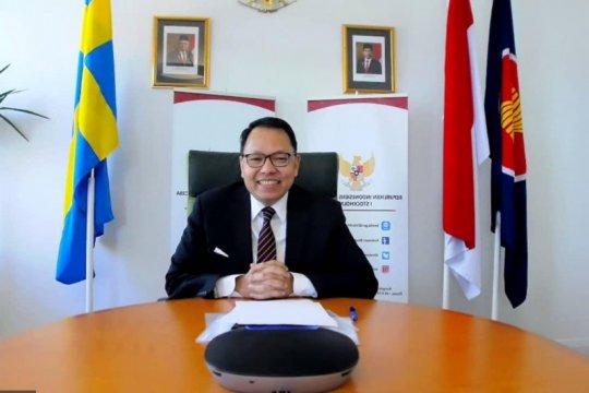 Dubes RI undang Swedia bangun pusat produksi regional di Indonesia