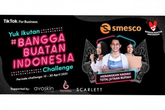 SMESCO gaet TikTok semarakkan Bangga Produk Indonesia