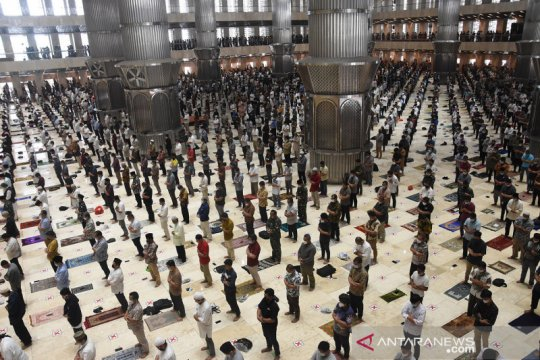 Shalat Jumat pertama Ramadhan 1442 Hijriah