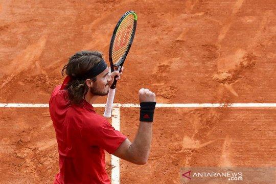 Tsitsipas ke final ATP Masters pertama setelah absen dua tahun