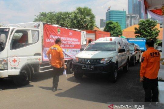 Gubernur Jatim lepas bantuan dari Jateng ke daerah terdampak gempa