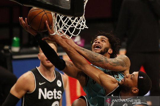 NBA : Brooklyn Nets menang 130-115 atas Hornets