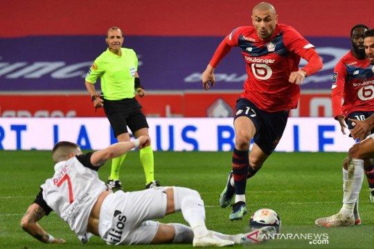 Dijegal Montpellier, Lille gagal mantapkan posisi puncak