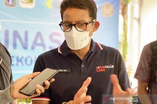 "Menparekraf ""kick off"" program vaksinasi pelaku ekraf di Jakarta"