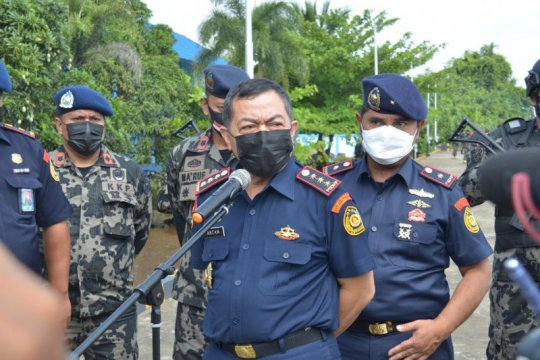 KKP berhasil rampungkan penyidikan 11 kapal ilegal di Selat Makassar