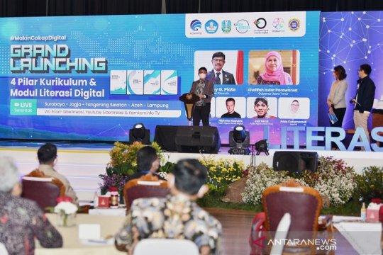 Kemkominfo luncurkan Gernas Literasi Digital sasar 12,4 juta warga