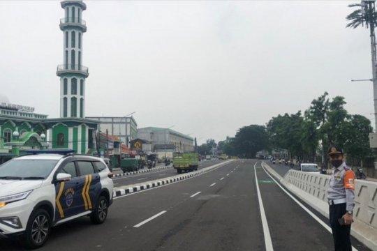 Fly over Cakung uji coba perdana tanggal 19 -21 April 2021