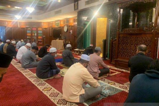 Shalat tarawih dengan aturan ketat di Kuala Lumpur