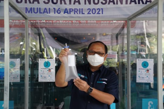 Pelindo III mulai sediakan layanan pemeriksaan Ge-Nose C19