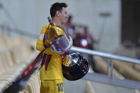 Lionel Messi cetak sejarah, kedua terbanyak peroleh trofi