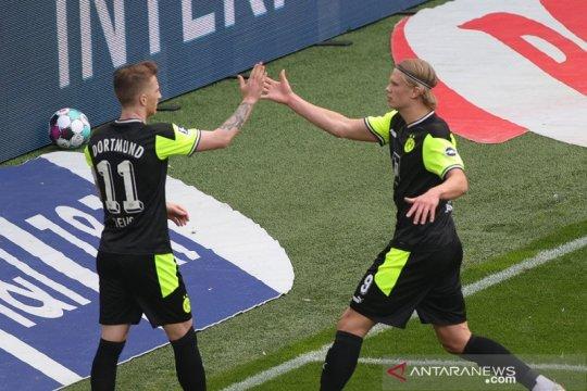 Dortmund hidupkan kembali asa ke Liga Champions usai lumat Bremen