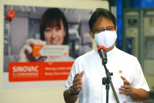 Enam juta bahan baku vaksin Sinovac tahap kedelapan tiba di Indonesia