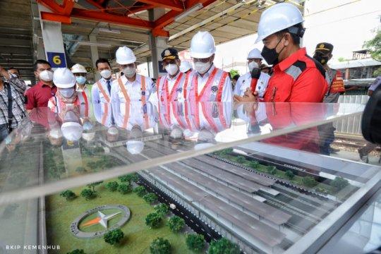 Menhub targetkan revitalisasi Stasiun Bekasi selesai akhir 2021