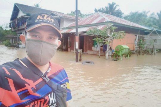 Banjir landa Badau di perbatasan Indonesia-Malaysia