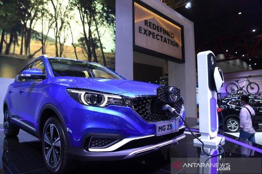 Deretan mobil listrik di IIMS Hybrid 2021