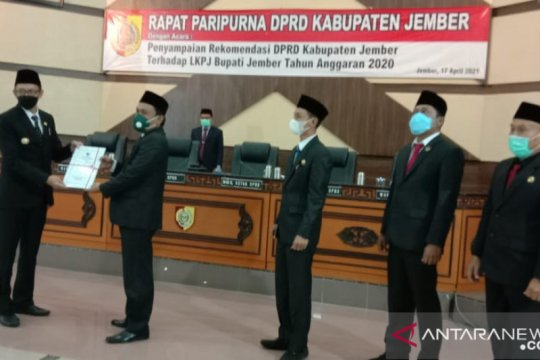 DPRD Jember berikan rapor merah atas LPKJ tahun anggaran 2020