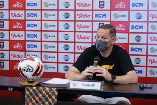 Irfan Bachdim-Gufron masih absen bela PSS Sleman lawan Persib Bandung